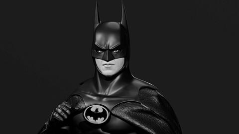 BATMAN (1989) Michael Keaton STL