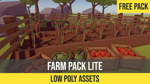 Low Poly Farm Pack Lite for Unity