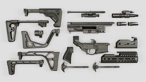 Sig Sauer MCX Rattler PDW Rifle