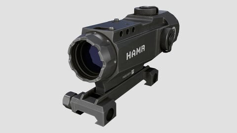 Leupold Mark 4 HAMR 4x24mm High Accuracy Multi-Range Riflescope