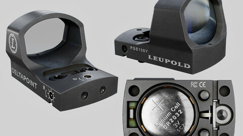 Leupold DeltaPoint Micro Red Dot Sight