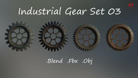 Industrial Gear Set 03