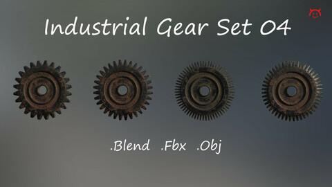 Industrial Gear Set 04