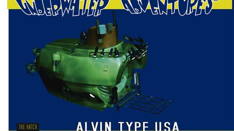 Alvin 3d model