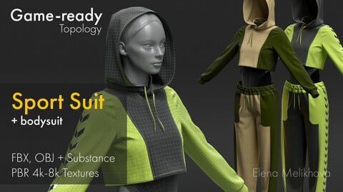 Sport Suit (Game-Ready Retopology)