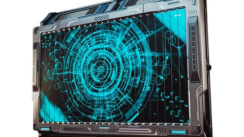 Sci-fi Billboard Game