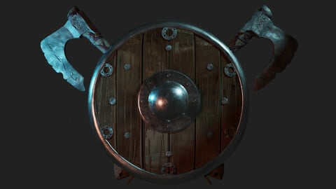 Base Weapon Vikings (.obj .fbx .blend files + Texture)