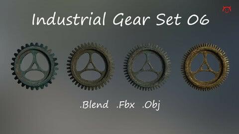 Industrial Gear Set 06