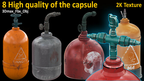 8 High quality model of the capsule