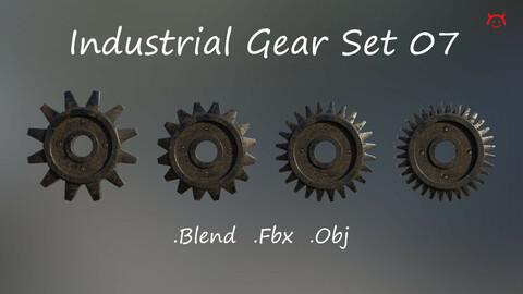 Industrial Gear Set 07