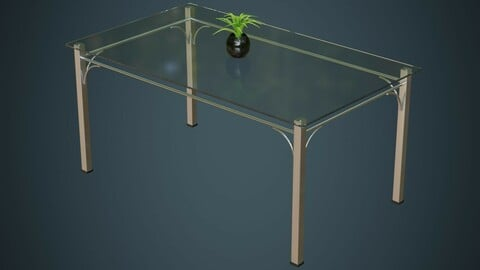 Glass Table 1A