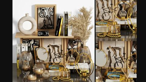 pampas decorative set 003