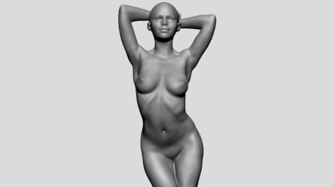 Posed Female Torso