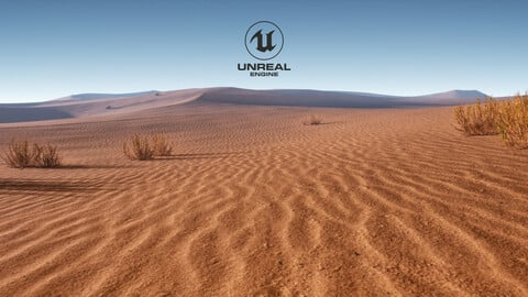 Desert Unreal 5 ( Terrain VOL.2 )