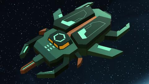 Normal Spaceship 17