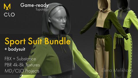 Sport Suit (Marvelous + Retopology) Bundle