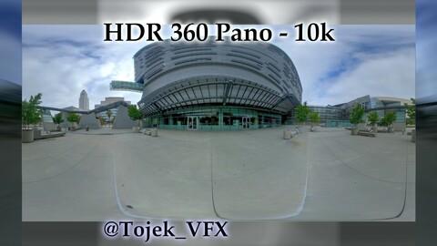 HDR 360 Panorama - DTLA - 01 California Dept. of Transportation