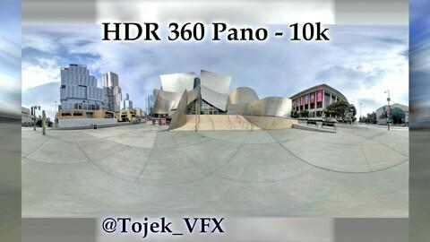 HDR 360 Panorama - DTLA - 29 Walt Disney Concert Hall