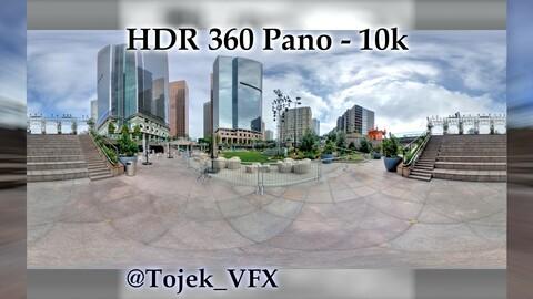 HDR 360 Panorama - DTLA - 43 California Plaza