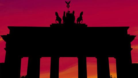 Berlin, Germany, Print Art Design