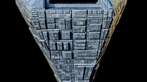Pentagon Space Station Spaceship Spacecraft
