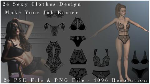 Sexy Clothes Design - Vol_1