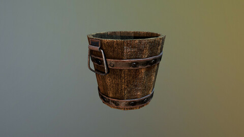Medieval Bucket Game Ready