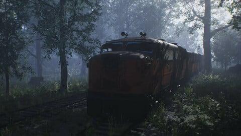 Abandoned Train Pack