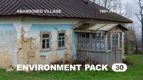 Env Pack 30 / Abandoned village / Reference pack