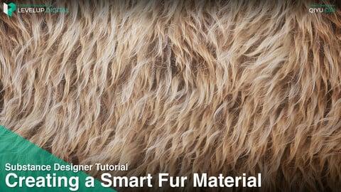 Creating a Smart Fur Material | QiYu Dai
