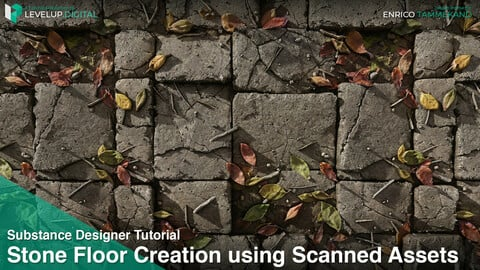 Creating a Stone Floor using Scanned Assets | Enrico Tammekänd