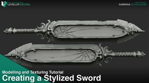 Creating a Stylized Sword | Sabrina Echouafni