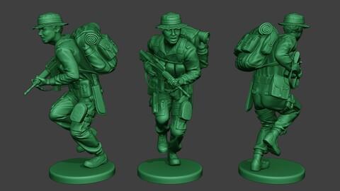 Modern Jungle Soldier Run2 MJS1