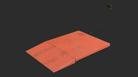 Industrial Weighing Platform