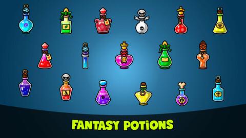 Fantasy Potions