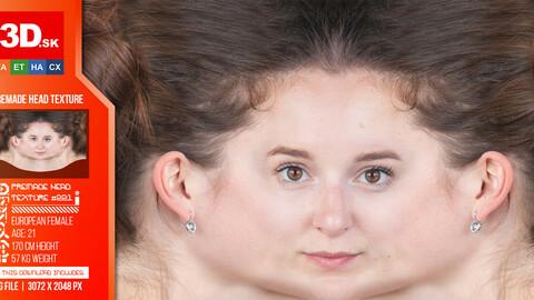 Female High Res Head Texture 221