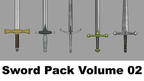 Sword Pack Volume 02