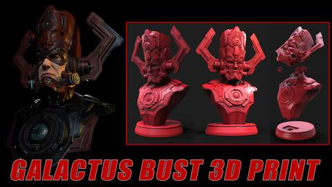 Galactus Bust 3D Print