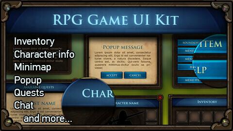 MMORPG UI Kit