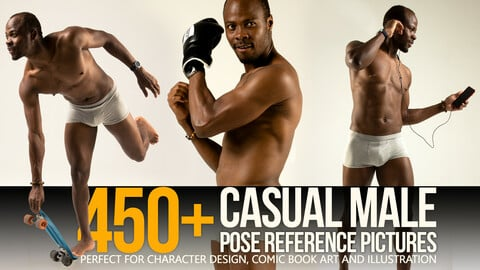 450+ Casual Male Pose Reference Pictures