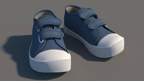 cartoon sneakers