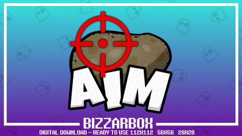 Twitch Emote: Potato Aim X