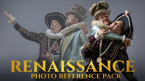 Renaissance Photo Reference Pack for Artists