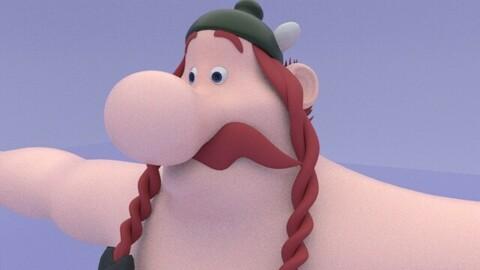 Obelix_character_3DModel