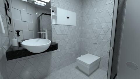 Compact Minimalistic Stylish Bathroom