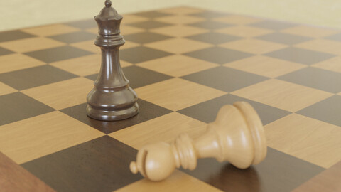 Chess Game / Chess Board / Chess Figures