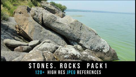 Stones. rocks