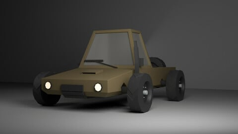 LOW POLY DRIFTER -PICKUP