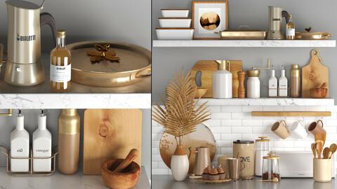 Kitchen decorative set vol 01