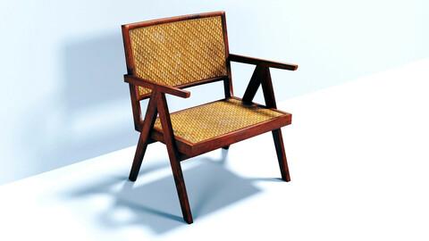 Wicker chair (PBR)